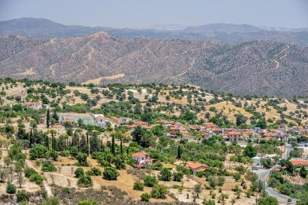 Hill views in Cyprus