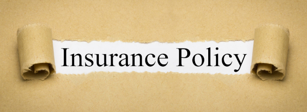 Insurance Policy sign