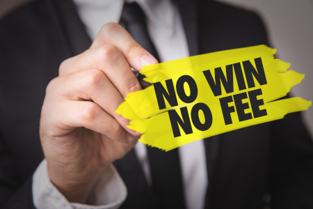 No win no fee sign